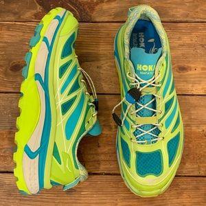 Women's Hoka Mafate Speed Running Shoes EUC 10